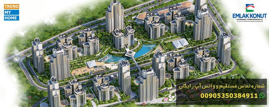 پروژه مسکونی اسپارتاکوله استانبول