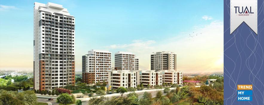 پروژه مسکونی Tual bahcekent در غرب استانبول