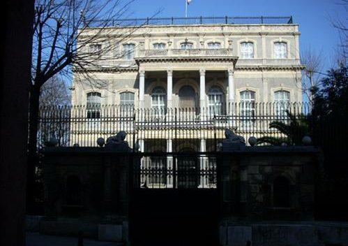 آدرس کنسولگری ایران در استانبول